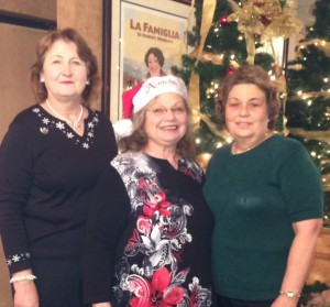 Diana Bulot, Harriet Aguiar-Netto and Linda Kraus—Thanks to Diana and Linda for gathering all of the Auction Items and handling all the details of the Auction Fundraiser